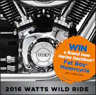 WIN a Brand New Harley Davidson® Fat Boy® Motorcycle